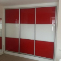 red-white-sliding-door-wardrobe