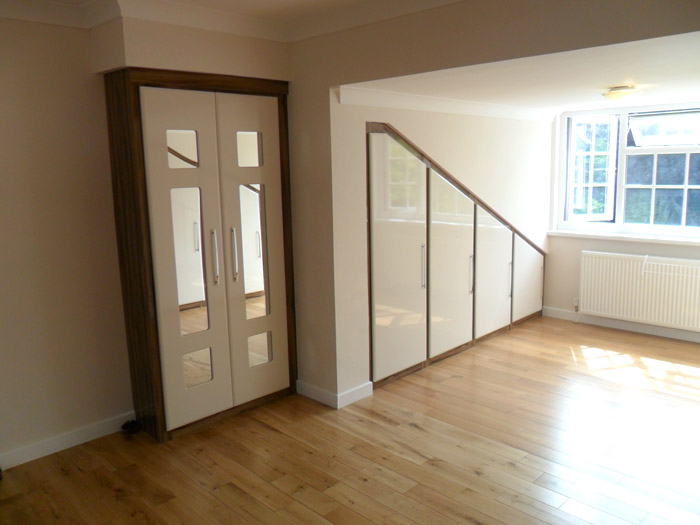 Bespoke Fitted Wardrobes For Lofts In Middlesex Uk